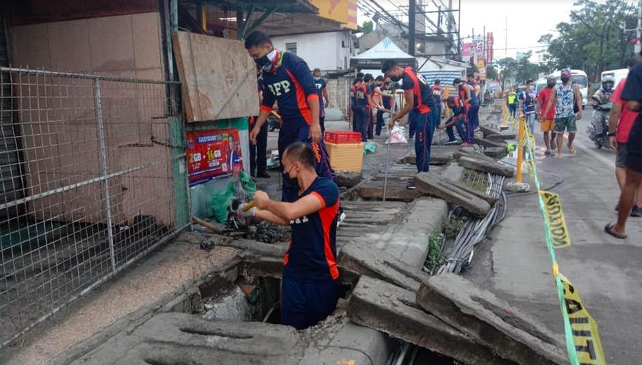 MEZ2, Lapu-Lapu City LGU team up for drainage clean-up