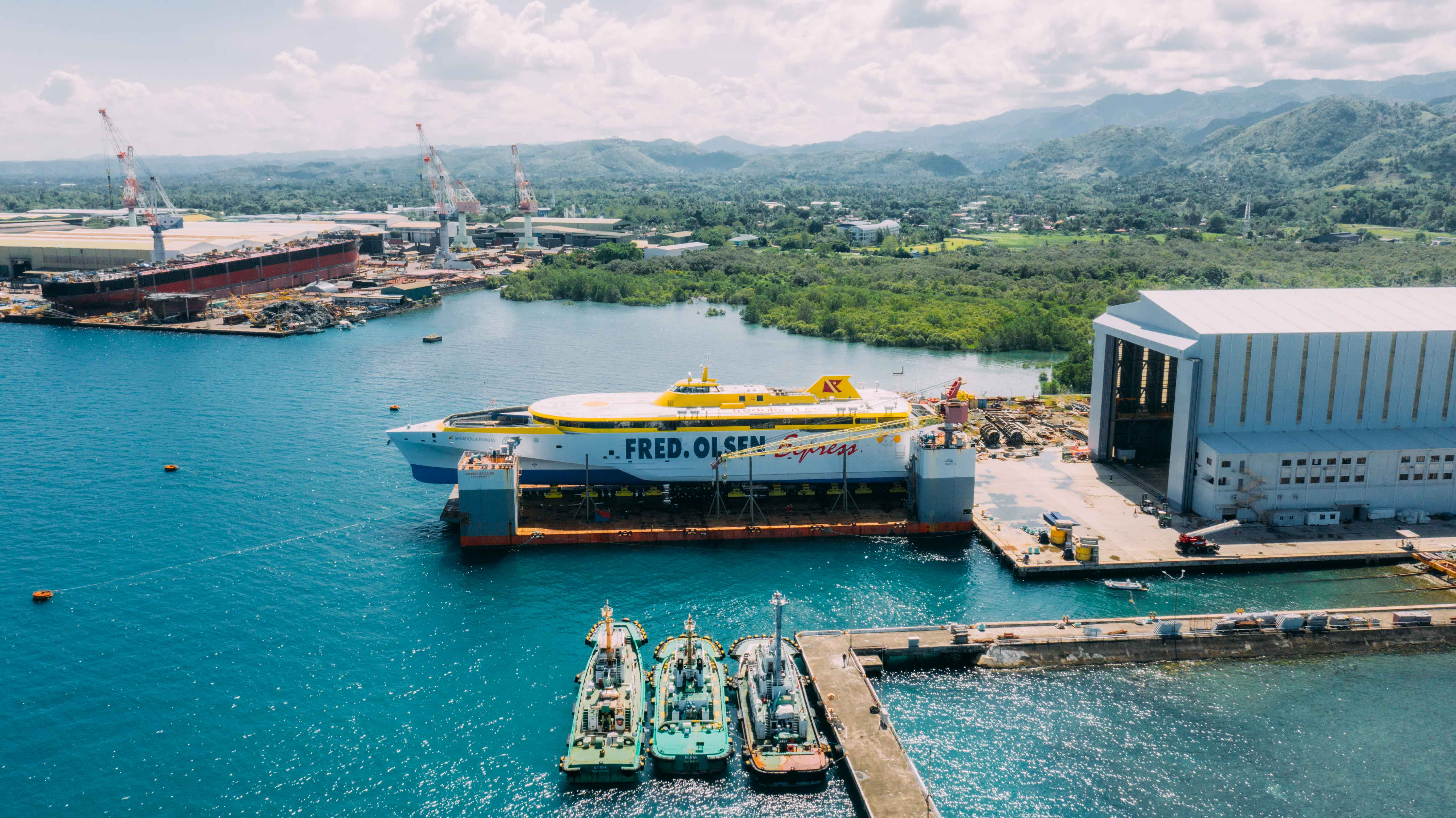 Austal Philippines completes 20th world-class ship at West Cebu Industrial Park